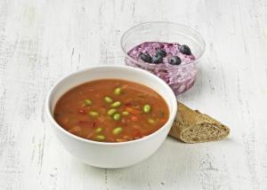 Friday-Sunday: Moroccan vegetable bean soup